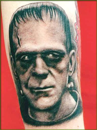 Amazing Monster Portrait Tattoo