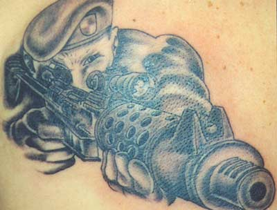 American Army Tattoo