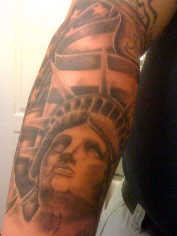 American Pride Tattoos On Arm