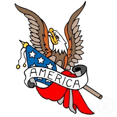 American Tattoo Design