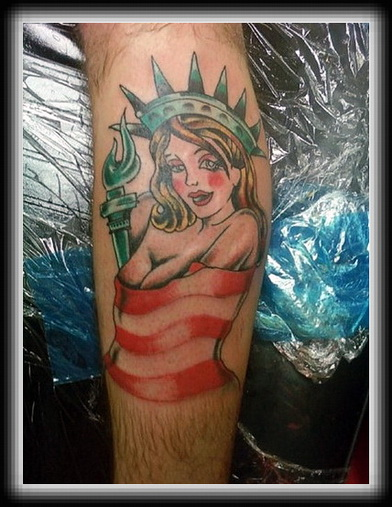 American Tattoo Photo