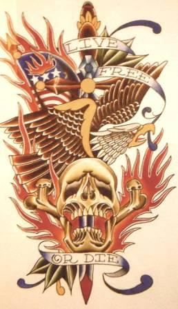 American Tattoos Flash