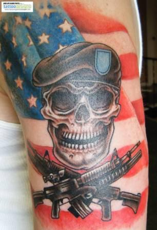 American Tattoos On Arm (3)