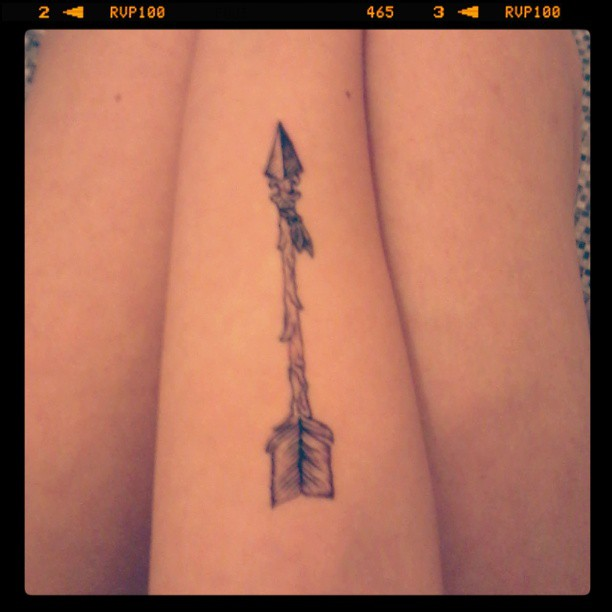 An Old Arrow Tattoo