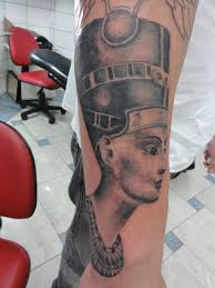 Ancient Egyptian Queen Tattoo On Arm (2)