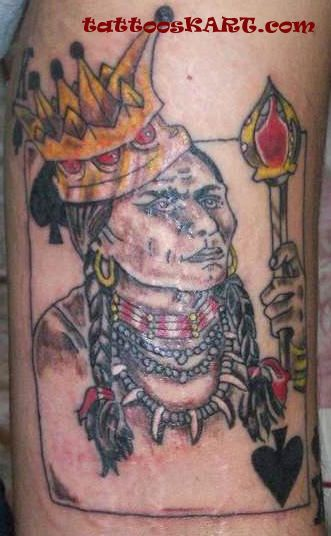 Ancient Queen Tattoo