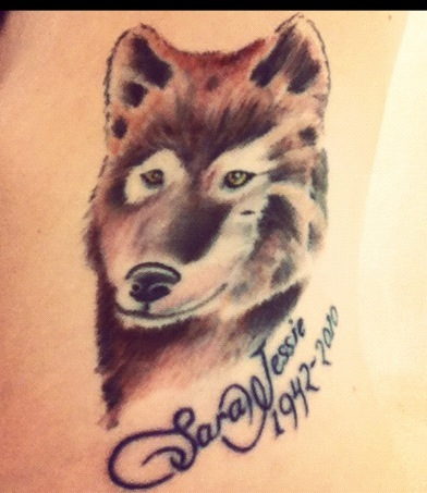 Animal Memorial Tattoo