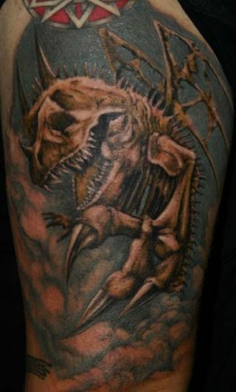 Animal Skeleton Tattoo
