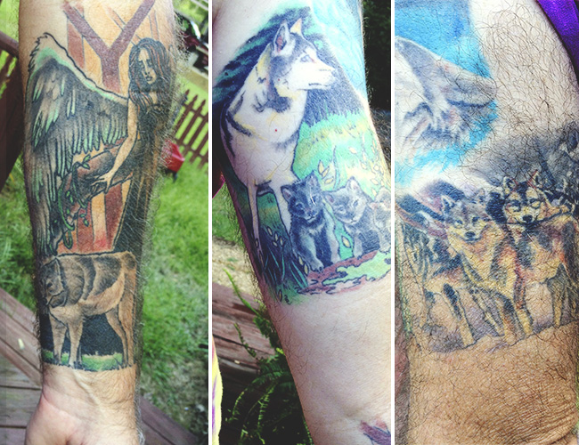 Animal Sleeve Tattoos (2)