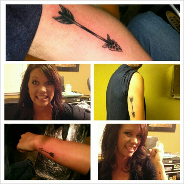 Arrow Tattoos Pictures