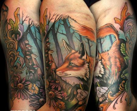 Beautiful Wild Animal Tattoos
