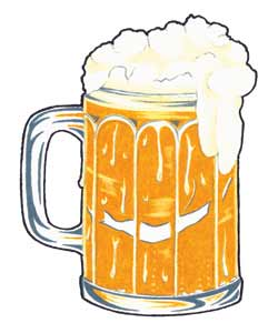 Beer Glass Tattoo Sample
