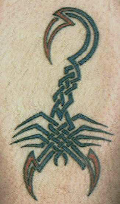 Best Tribal Scorpion Tattoo