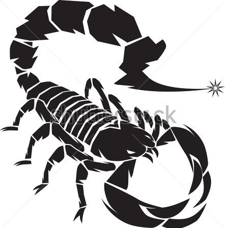 Black Scorpion Tattoo Version
