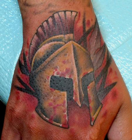 Blood - Helmet Tattoo (2)