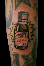 Boom Bottle Tattoo