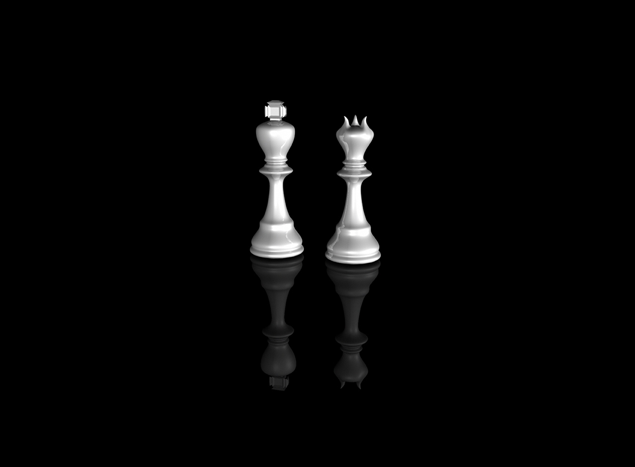 Chess King And Queen Tattoo Wallpaper