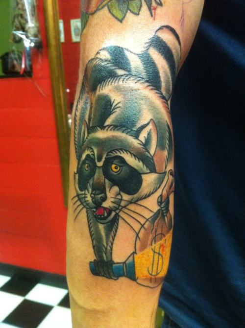 Cool Animal Tattoo On Arm For Boys
