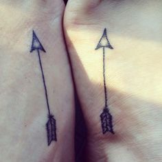 Couple Have Matching Arrow Tattoos