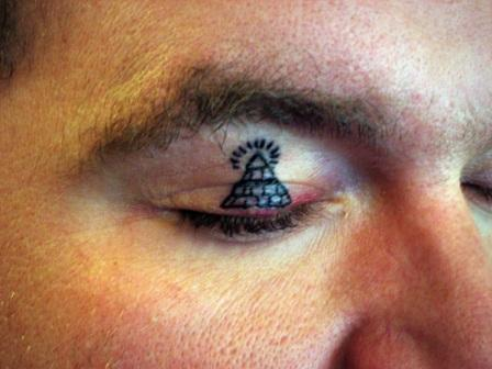 Cute Pyramid Tattoo