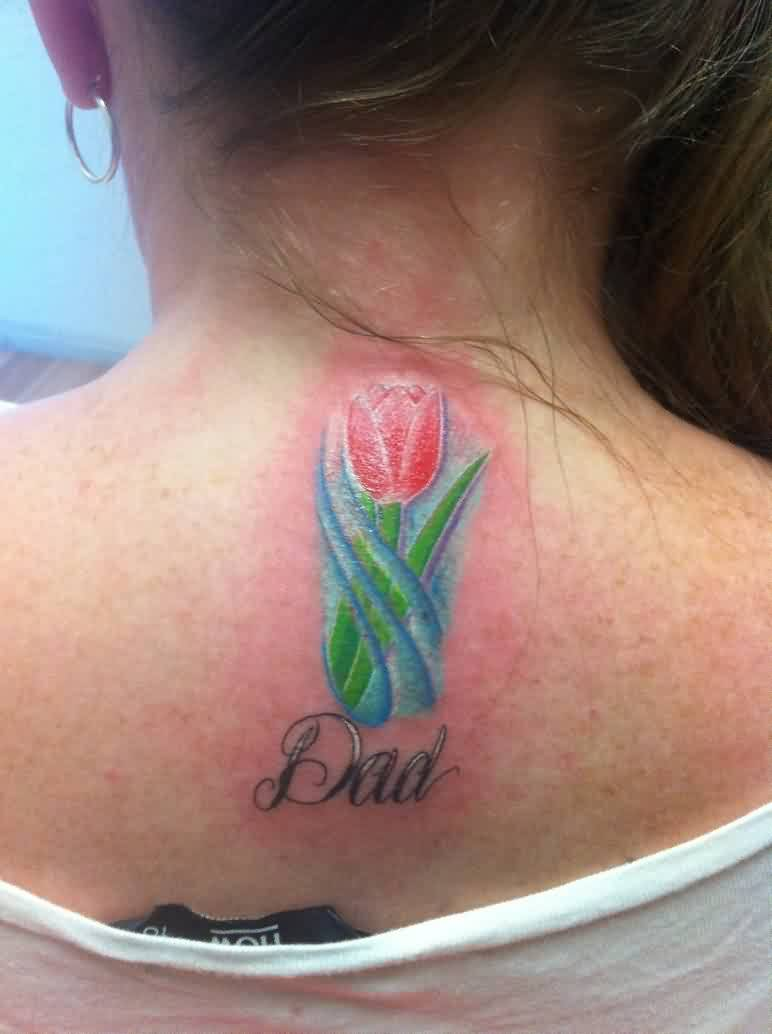 Dad - Tulip Tattoo