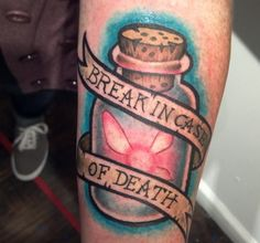 Death Case - Bottle Tattoo