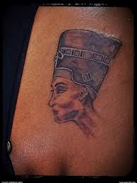 Egyptian Queen Head Tattoo