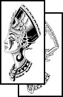 Egyptian Queen Tattoo Design