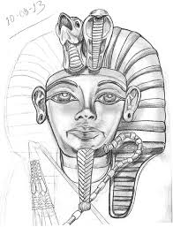 Egyptian Queen Tattoo Sketch