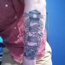 Fabulous Lighthouse Tattoo On Arm