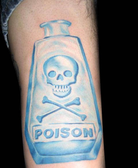 Fabulous Poison Bottle Tattoo (2)