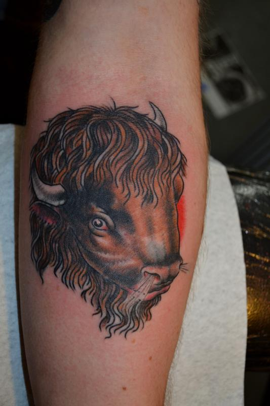 Fantastic Animal Head Tattoo