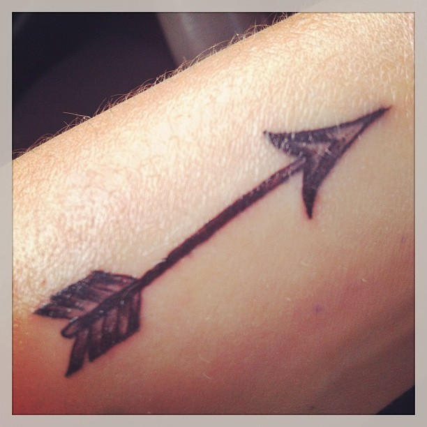 Fantastic Arrow Tattoo