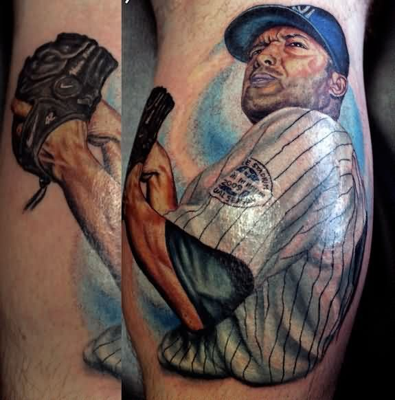 Fantastic Mariano Rivera Portrait Tattoo