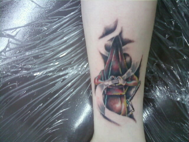 Fantastic Pyramid Head Tattoo