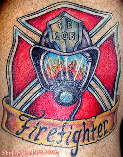 Firefighter Helmet Tattoo (2)