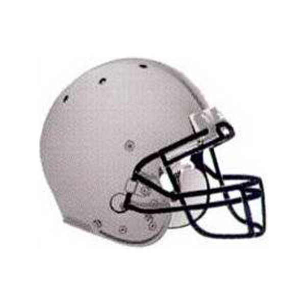 Football Helmet Temporary Tattoo Design