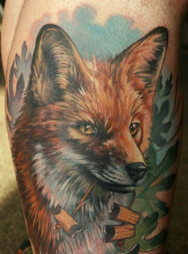 Fox Critter Tattoo