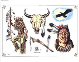 Free Native American Tattoo Designs