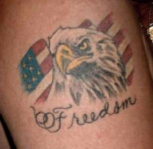 Freedom - American Tattoo (2)