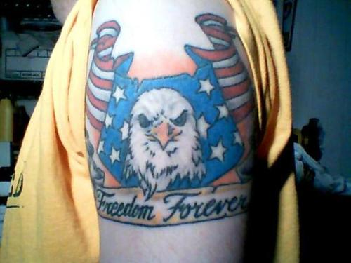 Freedom Forever American Tattoo