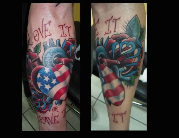Fresh American Pride Tattoos