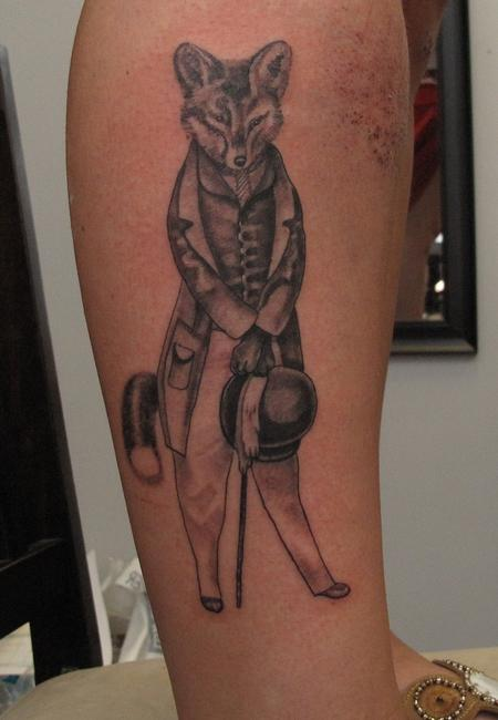 Gentleman Animal Tattoo