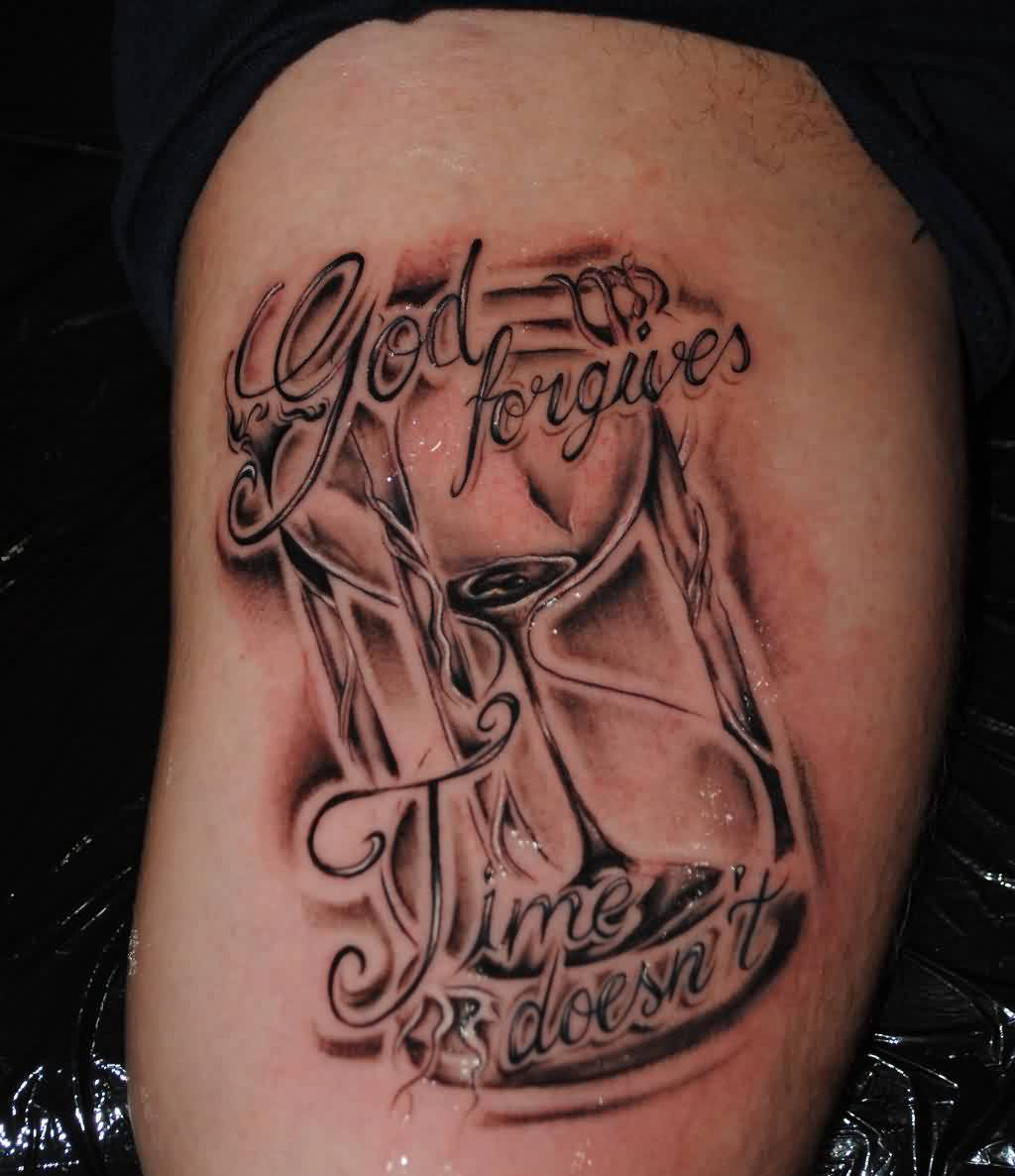 God Forgives Time Doesn't - Glass Tattoo