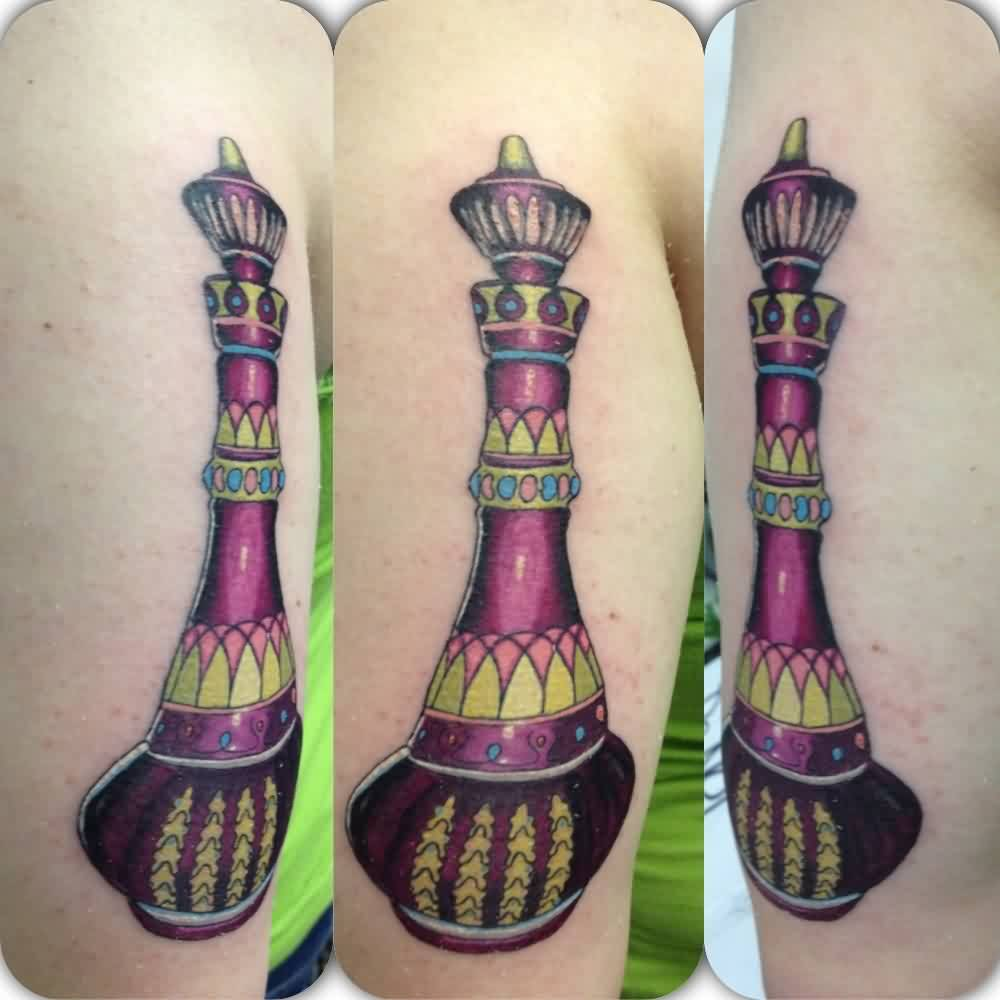 Gorgeous Jeannie Bottle Tattoo