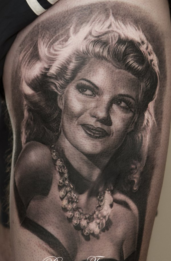 Gorgeous Portrait Tattoo