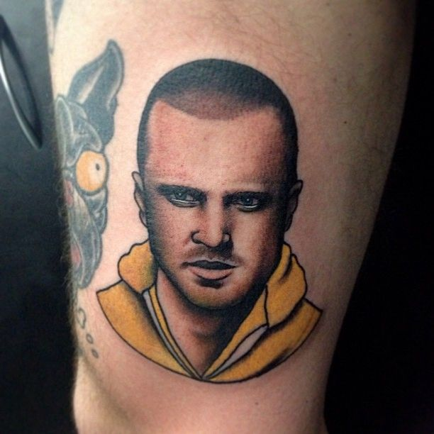 Guy Portrait Tattoo