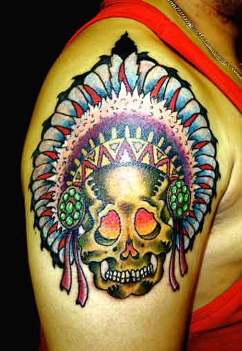Headdress - American Tattoo