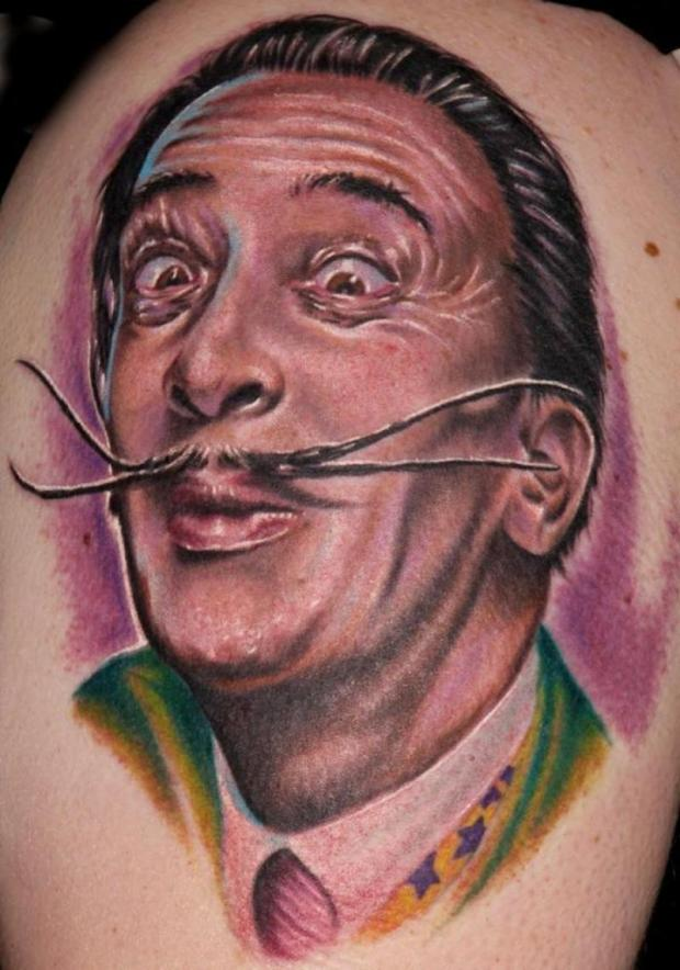 Hilarious Portrait Tattoo (2)