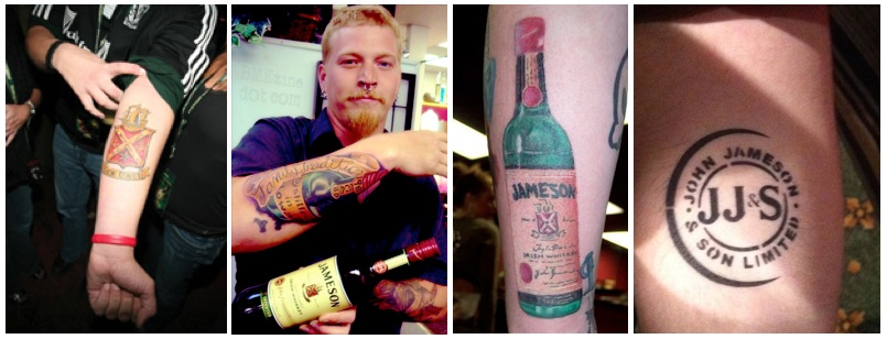 Jameson Bottle Tattoo Images